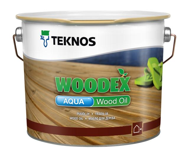 Woodex aqua wood oil TM-1810/2,7 l