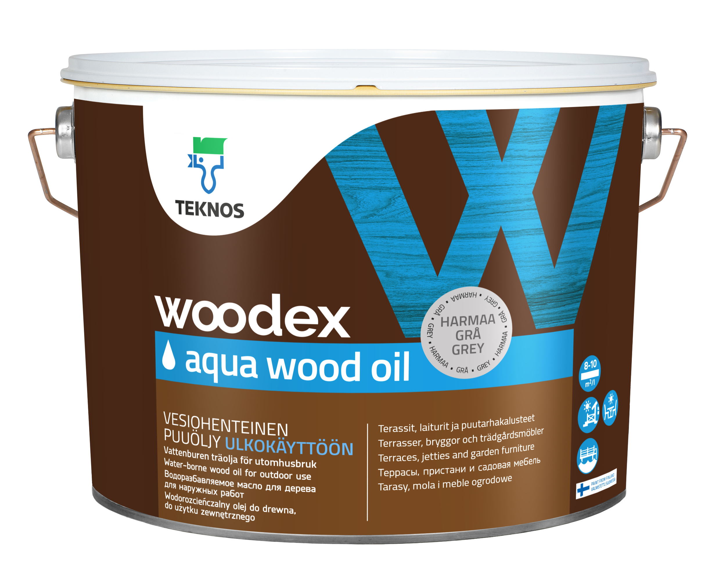 Woodex aqua wood oil TM-1827/2,7 l